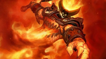 Ragnaros the Firelord Card Art